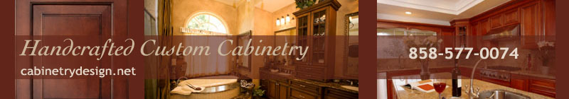 San Diego custom cabinet design and installation